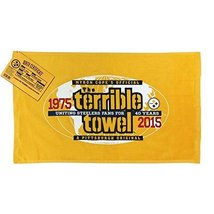 NFL Pittsburgh Steelers 40th Anniversary Official Terrible Towel Limited Edition - $19.79