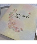 Our Babys Story Memory Album Book Vintage 1978 Tay Smith Sanitoy Unisex ... - $32.13