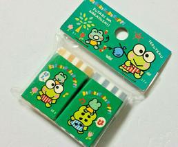 KERO KERO KEROPPI Eraser Stripe SANRIO 1994' Old Retro Cute Rare - $24.97