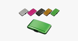 High Quality Metal Shiny  Card Holder Wallet - $9.99