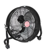 OEMTOOLS 24891 12 Inch Black High-Velocity Tilting Workspace Fan | 1300 ... - $57.99