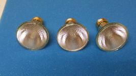 Pack Of 3 Halogen Light Bulbs,PAR20,E26,30 Deg Ge Lighting 38PAR20/HIR+/FL30 120 - $18.76