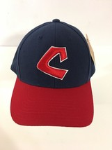 Cleveland Indians Cooperstown Collection Hat Size 7 3/8 Navy Red America... - $24.70