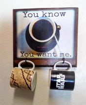 Wooden Decorative 2 Cup Coffee Mug Rack - $35.00