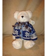 Boyds Bears Thor M Berriman Plush With Blue Eyed Bear - $18.99