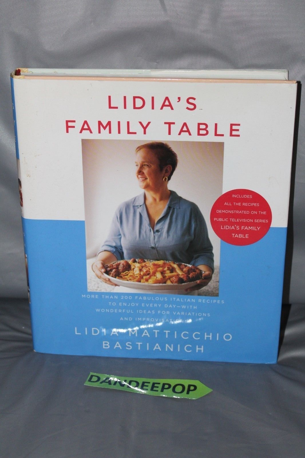 Primary image for Lidia's Family Table by David Nussbaum and Lidia Matticchio Bastianich (2004, Ha