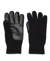 Men's Apt. 9 Black Knit Touchscreen-Compatible Gloves Size: M/L - NWT - $10.49
