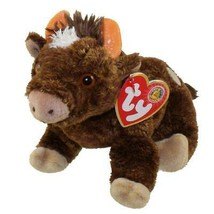Jersey Brown Bull Retired Ty Beanie Baby MWMT Collectible BBOM (Jan 2004) - $7.87