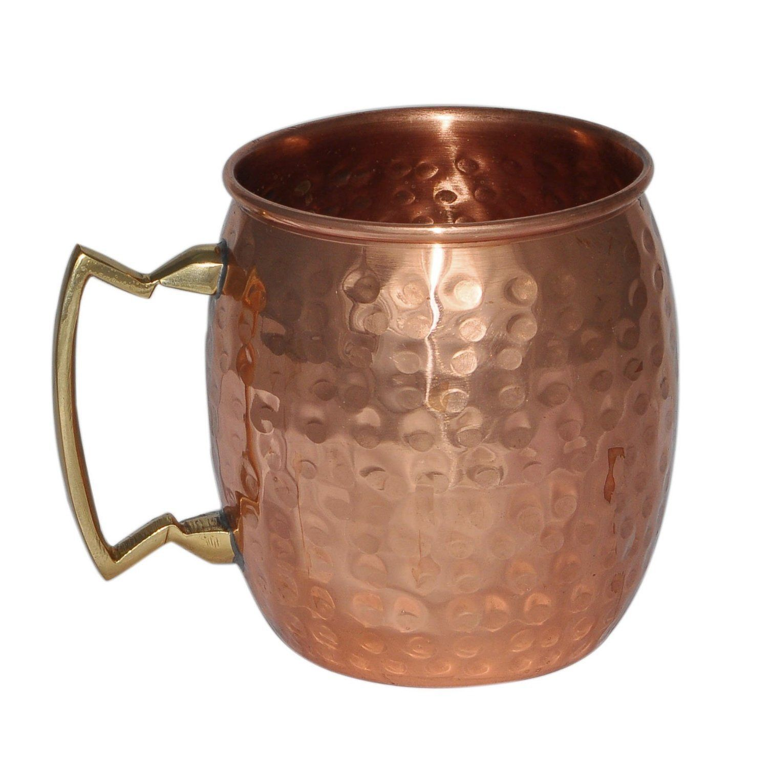 Indian Copper Bottle with 4 Mug Freezer Safe Gift Idea coffee Moscow mule cup