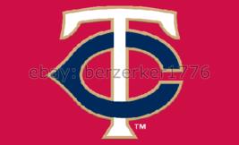 Minnesota Twins 3'x5' red Flag Sano Mauer Hrbek Puckett - USA seller shipper - $25.00