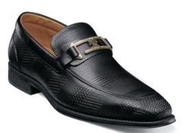 Stacy Adams Pomeroy Moc Toe Bit Slip On Dress shoe Black 25344-001 - €82,08 EUR