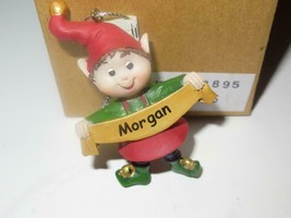 CHRISTMAS ORNAMENTS WHOLESALE- JINGLE ELVES- 13895- MORGAN-  (6) - NEW -S1 - $5.83