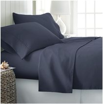 Home Collection 4 Piece Navy Blue Ultra Soft Deep Pocket Bed Sheet Set - Twin XL - $36.95