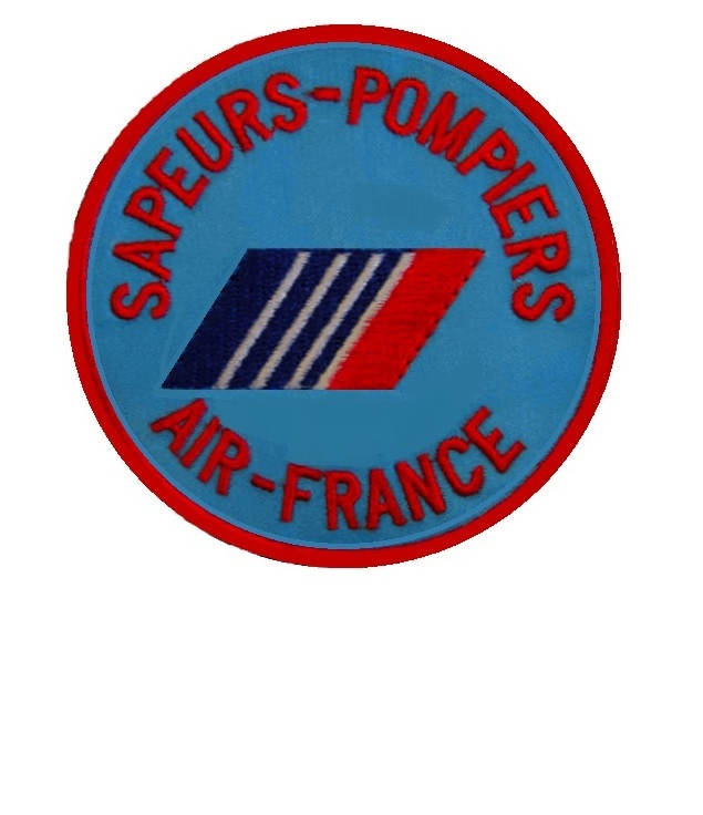 Urs pompiers air france compagine aerienne french firemen air france airline 2.75 x 2.75 in 9.99