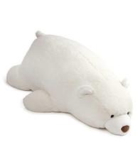 GUND   Snuffles   Laying Down Teddy Bear   Stuffed Animal Plush, White +... - $41.79