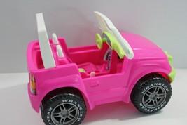 Barbie Jeep Pink Mattel 1999 - $15.47