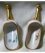 Vintage Porcelain Miniature Scoop Floral Design - $18.99