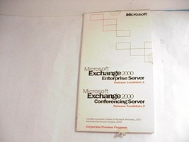 Microsoft Exchange 2000 Enterprise & Conferencing Server  - $19.79