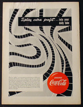 1951 Coke COCA-COLA 9 X 12 Promotional Advertisement Movie Theater Film Ad - $9.74