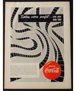 1951 COKE COCA-COLA  9 X 12 PROMOTIONAL ADVERTISEMENT MOVIE THEATER FILM AD - $9.74
