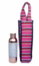 Indian Copper Water Bottle for Ayurveda yoga Health Benefit  healing  - $37.39