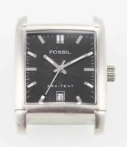 Fossil Arkitekt Black Stainless Steel Silver Case. Parts, Repair Item - ₹1,028.44 INR