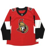 Adidas Authentic Ottawa Senators Home Jersey Size 56 Red Officially Lice... - $89.99