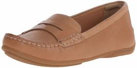 Clarks Women's Doraville Nest Slip-On Loafer 10 Tan Leather - $65.17