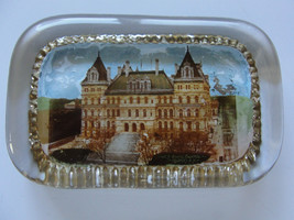 New York State Capital old glass paperweight, Pyro photo Company, Albany - $26.59