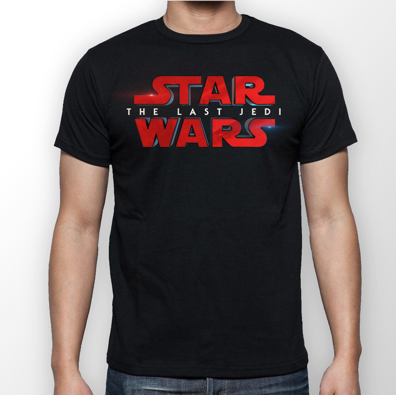 Star Wars The Last Jedi T-Shirt --All Sizes--