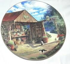 Bradford Exchange Garden Hideaway Limited Edition Collectors Plate ba - $19.99