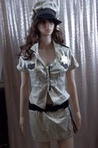 Deputy Johnson Sheriff Policewoman Reno 911 Adult Women's Costume-Medium-NIP - $24.74