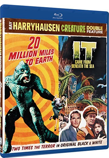 20 Million Miles To Earth / It Came From Beneath The Sea  [Blu-ray]