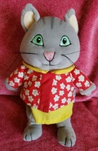 "Eden Gray Cat Character Plush 8"" Stuffed Animal Toy  - $15.56"