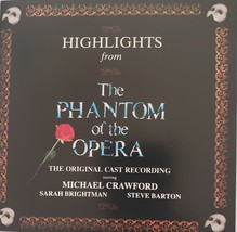 Highlights from The Phantom of the Opera 1987 CD - $6.95