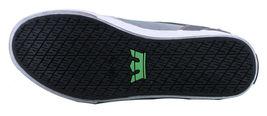 Supra Men's Vaider Low Fade Grey/White Nylon Skateboard Shoes Sneaker S36042 NIB image 7