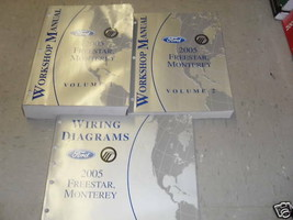 2005 Mercury Monterey & Ford Freestar Servizio Negozio Riparazione Manua... - $22.76