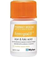 Ferro-grad F Iron & Folic Acid 30 Tablets - $78.64