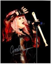 CYNDI LAUPER  Authentic Original 8x10 SIGNED AUTOGRAPHED PHOTO w/ COA 2434 - $60.00