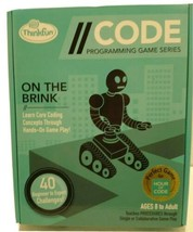 Thinkfun CODE Programming Series On The Brink NIB  - $10.41