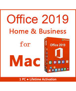 Microsoft Office 2019 for Mac Key with Download - $44.90