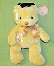 "17"" Precious Moments TEDDY BEAR Plush 2003 + TAG Tan ENESCO GRADUATION L... - $24.75"