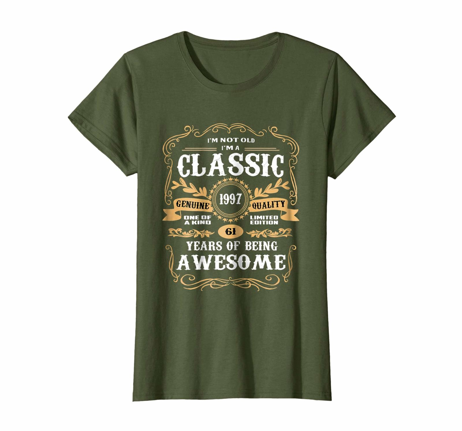 Uncle Shirts -   Vintage Classic 1997 Shirt 21st Birthday Gifts For Women Men Wo