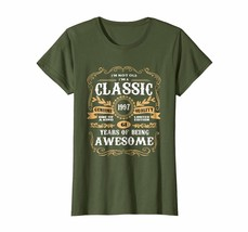 Uncle Shirts -   Vintage Classic 1997 Shirt 21st Birthday Gifts For Women Men Wo image 1