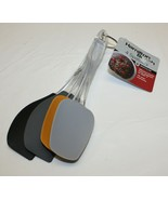 Hamilton Beach Silicone Head Spatulas Set of 4 WITH TAG ATTACHED - $24.74