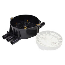 A-Team Performance Distributor Cap and Rotor Compatible with GM Vortec 262 Black image 4