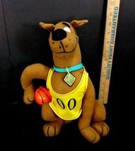 "Basketball Scooby Doo 00 dog with collar Plush Stuffed Animal TOY DOLL 11"" tall - $10.39"
