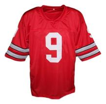 Johnny Utah Point Break Movie Keanu Reaves Men Football Jersey Red Any Size image 2
