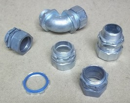 Assorted Conduit Fittings 1 1/4in Lot of 6 - $21.08