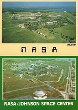 Houston NASA Space Center 2x Spectacular Aerial Postcard s - $8.99